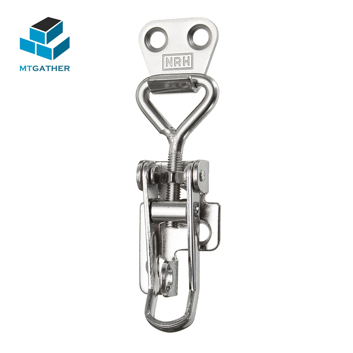 MTGATHER Hasps Spring Loaded Toggle Case Box Chest Trunk Latch Catches Hasp Durable 304 Stainless Steel For Windows Doors Boxs