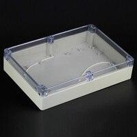 263 182 60mm Plastic Enclosure Box Waterproof Junction Box Transparent Electronic Project Boxes