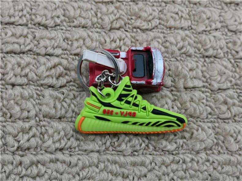 Thời trang Mini Silicone SPLY-350 V2 Giày Móc Khóa Người Phụ Nữ Túi Quyến Rũ Áo Trẻ Em Móc Khóa Quà Tặng Giày Sneaker Dây Chuyền Chìa Khóa Acessorios Porte clef