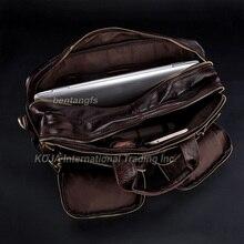 Wholesale Genuine Leather Backpacks Men Travel Backpack School Bags Luggage Bags knapsack Rucksack men Leather Duffle Bag Brown