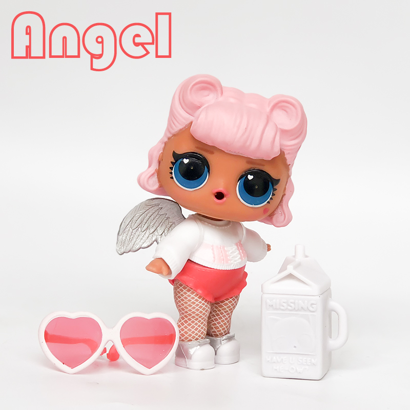 Color Change Gir Doll series 3 011 Angel with Accessories clothes Shoes Wing original Rare Kids Girl Toys for children gift цены