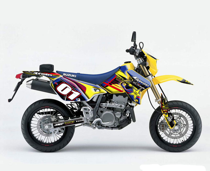 Suzuki Drz Graphics
