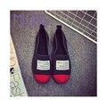 Новое Прибытие 2016 Повседневная Обувь, Весна и Осень Квартиры для Женщин ленивый повседневная обувь и удобная обувь бесплатная доставка