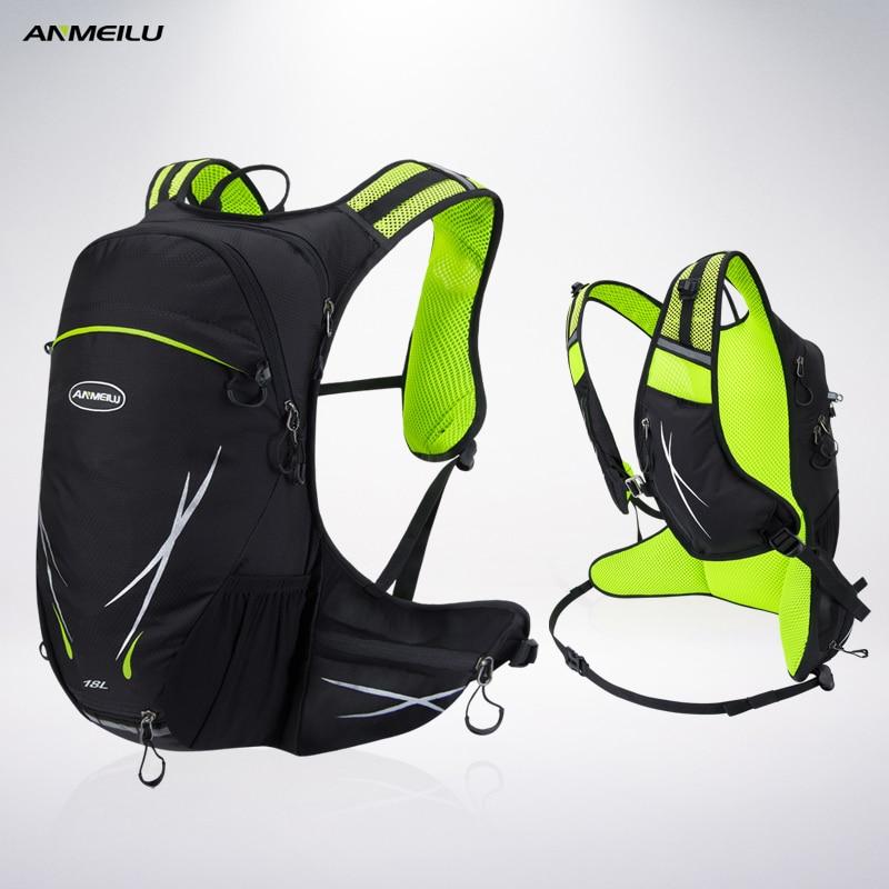 ANMEILU Sport Bag 18L Nylon Outdoor Travel Backpack 2017 Climbing Cycling Camping Fishing Rucksack Camelback Bicicleta Mochila jsz super light cycling sport nylon backpack bag black grey