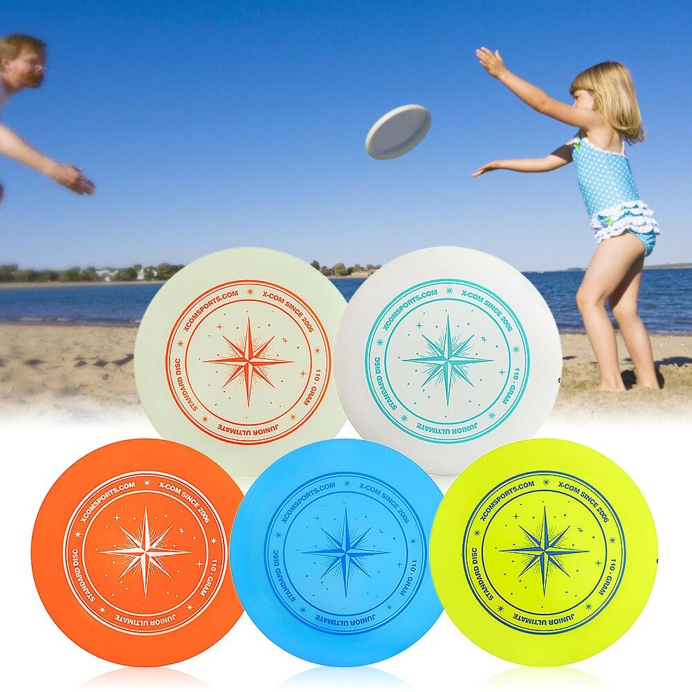 Outdoor Flying Disc 9.3 Inch 110g Plastic Flying Discs Outdoor Play Toy Sport Disc for JuniorsOutdoor Flying Disc 9.3 Inch 110g Plastic Flying Discs Outdoor Play Toy Sport Disc for Juniors