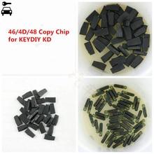 High Quality 10pcs/lot KD 4C 4D 46 and 48 Copy Clone Chip Transponder Special for KEYDIY KD X2 KD X2 Key Programmer Cloner