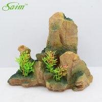 Saim Resin Rocks Aquarium Decoration Simulation Aquarium Stone Fish Tank Ornament Acuario Decorative Rockery Decor For Aquarium