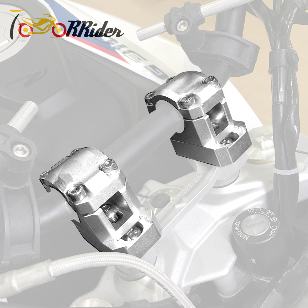 Motorcycle 22mm 28mm Handlebar Mount Riser Handle Bar Raised Extend back Move Up 20mm For 2017 2018 BMW G310R G310GS S1000XR in Handlebar from Automobiles Motorcycles