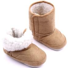 Venda quente de Inverno Botas de Algodão Do Bebê Infantil Sapatos Meninos Meninas Botas de Neve Crianças sapatos Bebe Khaki/Rosa/Azul