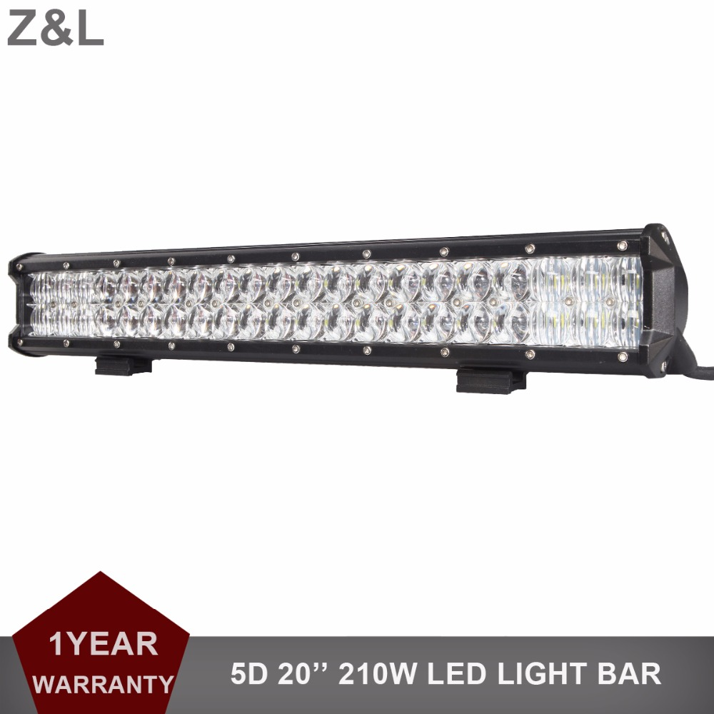 20 pouce VOITURE LED LIGHT BAR OFFROAD 12 v 24 v SUV 4WD 4X4 RAMASSAGE VAN CAMPER TRACTEUR CONDUITE LAMPE 210 w COMBO CAMION WAGON PHARE