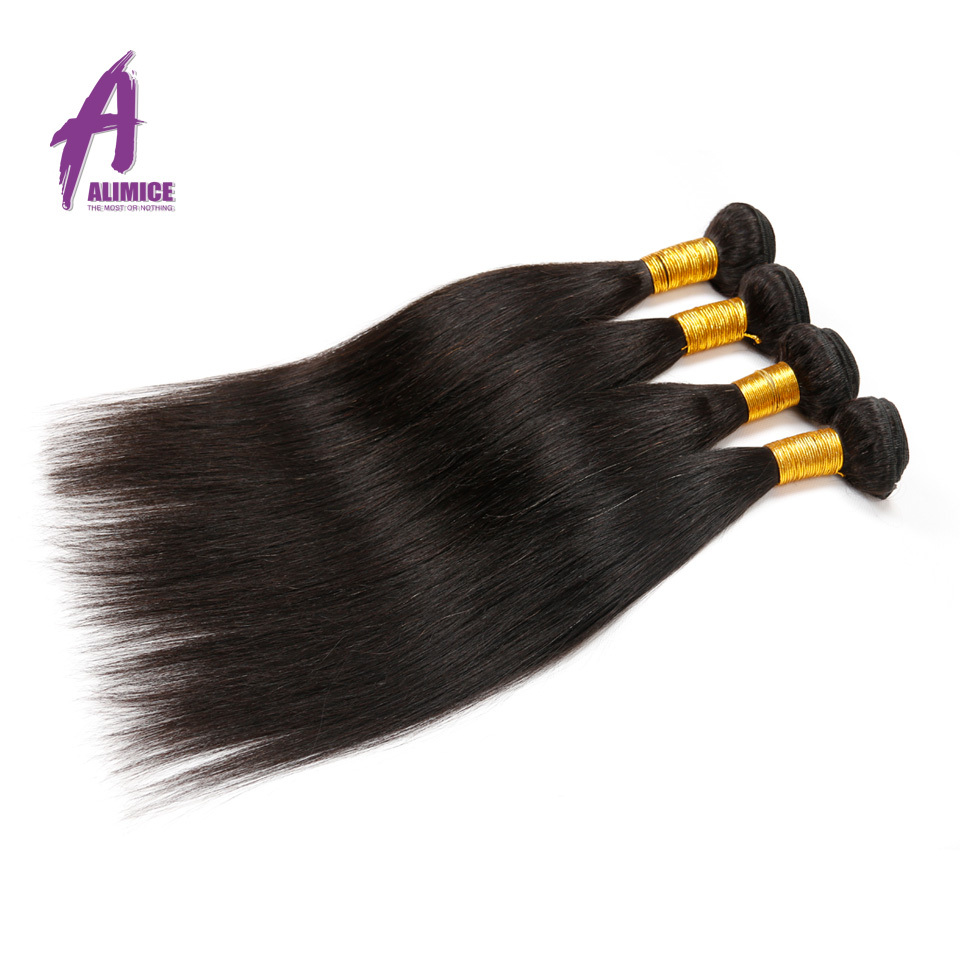 Straight Peruvian Virgin Hair 4 Bundles Peruvian Straight Hair 7A Peruvian Straight Virgin Hair Unprocessed Virgin Straight Hair