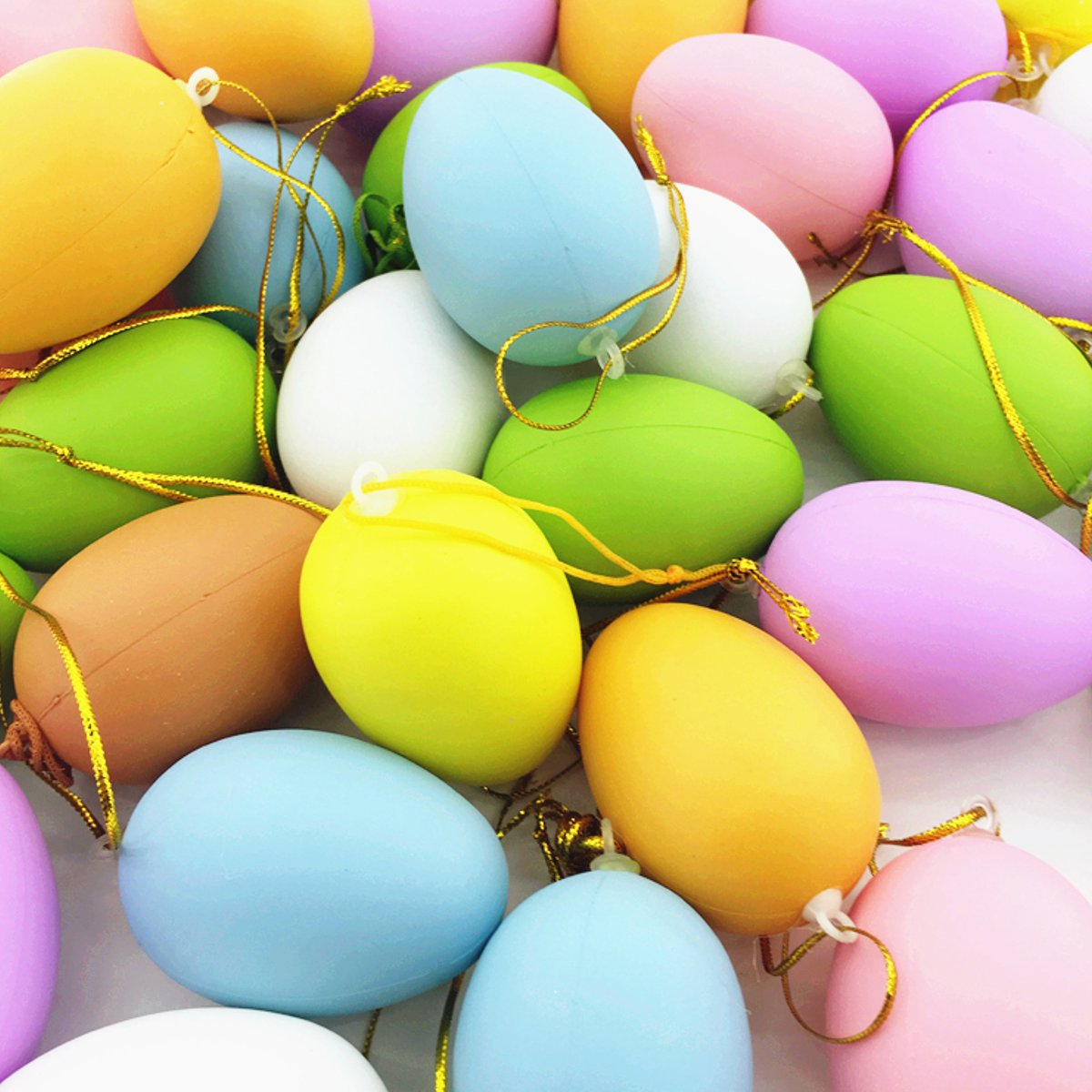 Wholesale easter gifts best oval easter basket with wholesale simple pcs bright colors plastic easter eggs simulation easter events party diy decorative gadgets assortment toy gifts ornamentin party diy decorations negle Gallery