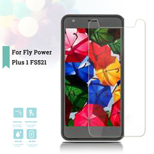 2.5D 0.26mm Ultra Thin Tempered Glass Fly Power Plus 1 FS521 Toughened Screen Protector Film Protective Screen Case Universal смартфон fly fs521 power plus 1 золотистый