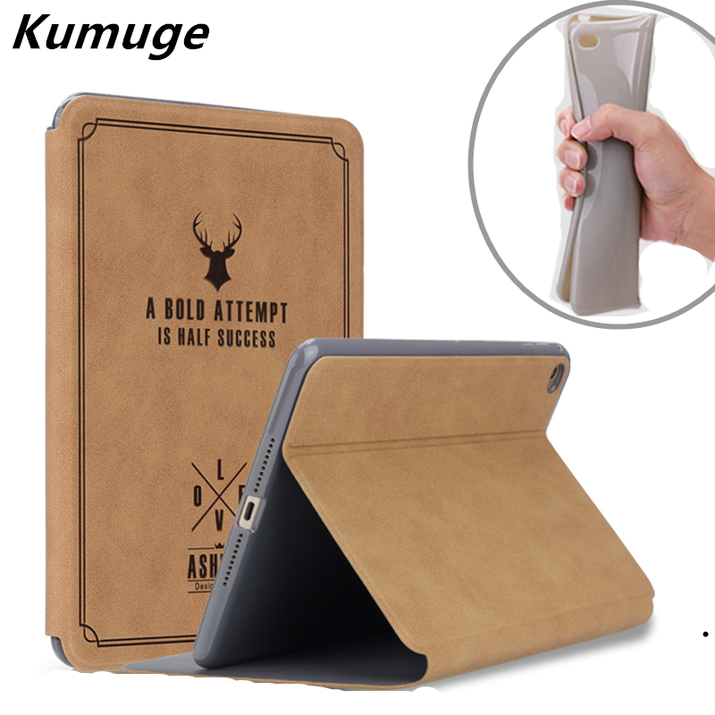 Vintage Cover Case for New iPad 2017 9.7 Tablet Coque Soft TPU Silicone Back Cover for 2017 New iPad 9.7 Model A1822 +Film +Pen transparent tpu silicone back cover for new ipad 2017 model a1822 tablet cover for funda new ipad 2017 capa para stylus pen