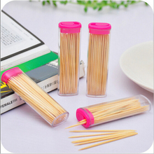 85pcs bamboo toothpick pocket fashion Lighter Toothpick Holder shaped Romantic creative toothpick box Portable carry(China)