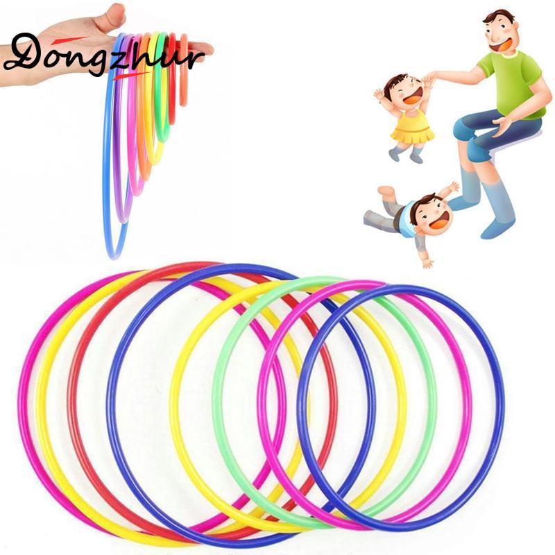 10 stück Werfen Ring Spiel Pädagogisches Lustiges Kreis Spiel Spielzeug Kinder Kinder Geschenk Spiele Im Freien Kunststoff Werfen Kreis Ourdoor Spielzeug