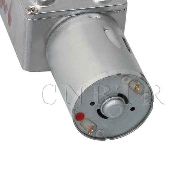 JGY370 DC12V 90 RPM Motoréducteur avec Métal Réducteur Réducteur pour bricolage Projet