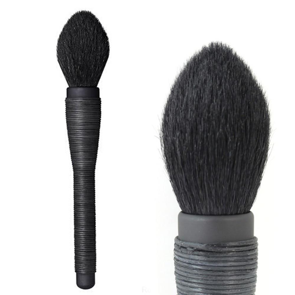 Szakmai Mie Kabuki ecsetpor smink ecset Kiváló minőségű természet kecske haj smink eszközök