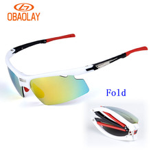 2017 Women Men's Bicycle Sunglasses Polarized UV400 Proof 3 Lens Outdoor Sports Sun Glasses Riding Bike Cycling Eyewears Goggles