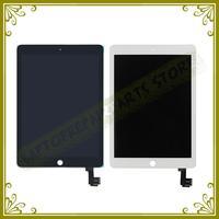 5 יחידות חדש מקורית עבור iPad 6 LCD עם הרכבה מסך מגע לבן שחור עבור Ipad אוויר 2 מסך Lcd וdigitizer A1567 A1566