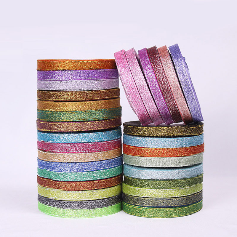 1cm Full Range Of Specifications And Sizes Colored Ribbon/ Different Color Plastic Ribbons / Satin Ribbon Edging Tape Roll With A Decorative Belt Diy Famous For High Quality Raw Materials Contemplative 25 Yards And Great Variety Of Designs And Colors