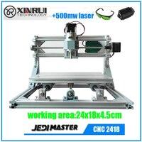 2016 New GRBL CNC Machine 3 Axis Pcb Milling Cnc Machine 2418 Diy Wood Carving Mini