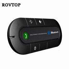 Zestaw samochodowy Bluetooth odtwarzacz muzyczny MP3 wielopunktowy głośnik telefon 4.2 EDR bezprzewodowy zestaw głośnomówiący do słuchawek dla IPhone Android telefon #2