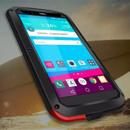 H818 Original Love mei Waterproof Case For LG G4 VS999 F500 case Dropproof Aluminum case For LG G4 Powerful shockproof Case