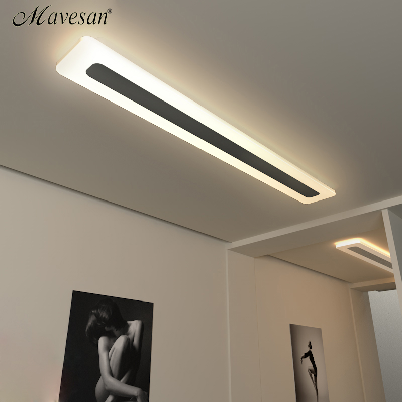 Buy Mavesan Acrylic Modern Led Ceiling Lights For Living Room Bedroom Plafond