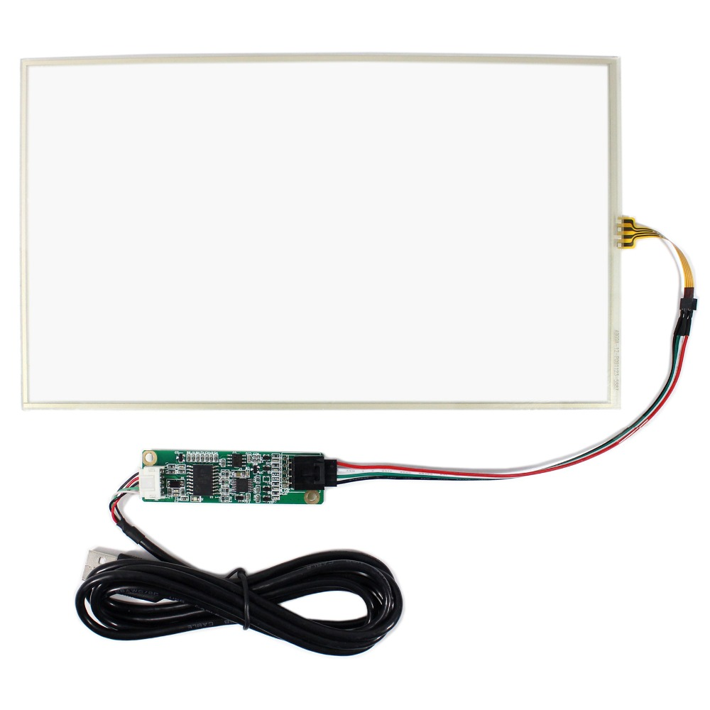 10.1inch 4-wire Resistive touch screen+Controller card for 10.1inch N101BCG-L21 amt 146 115 4 wire resistive touch screen ito 6 4 touch 4 line board touch glass amt9525 wide temperature touch screen