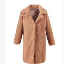 цена на Solid Long Faux Fur Coats Women Winter Warm Lambswool Oversized Teddy Coats And Jackets Women Thick Plus Size Fur Coat