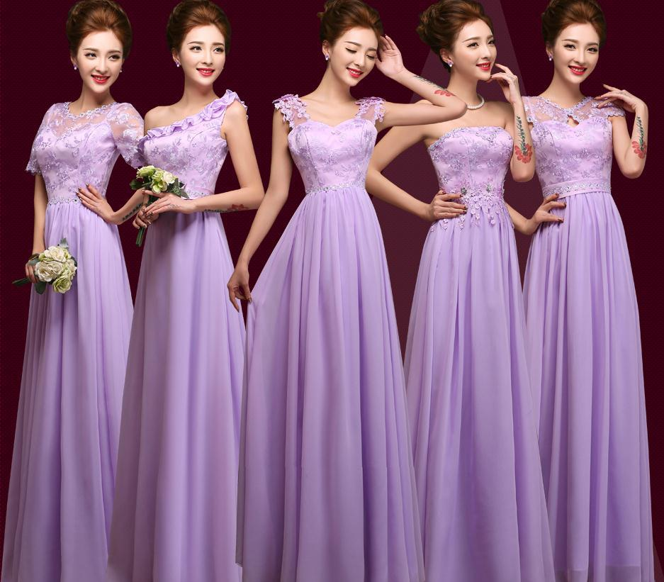 14781a91ba21 2015 spring summer nice light purple bridesmaid dress the wedding formal  party over long bandage dresses good cheap fasta
