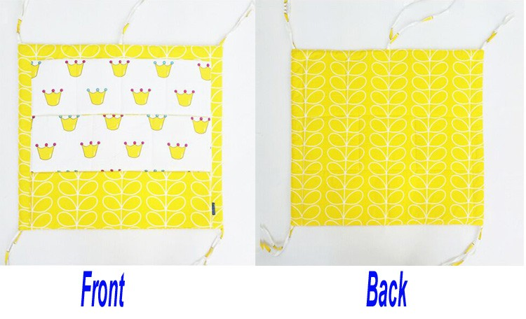 crown - Baby Bed Hanging Bag details