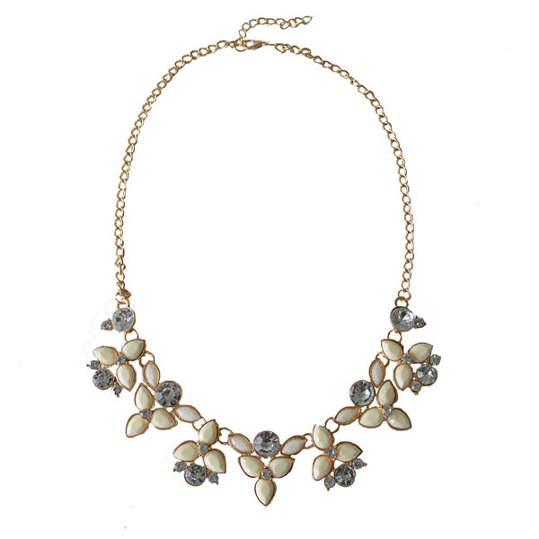 Fashion Brand Designer Chain Choker Statement  Necklace Women Collier Vintage Maxi Necklace Bib Necklaces&Pendants Women Jewelry