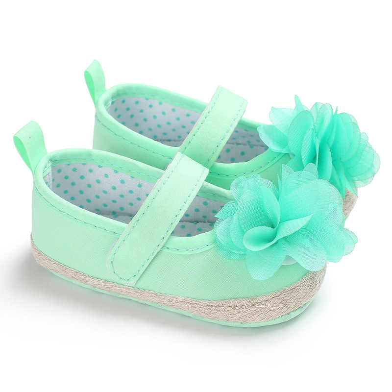 Sweet Green NewBorn Baby Girl Shoes