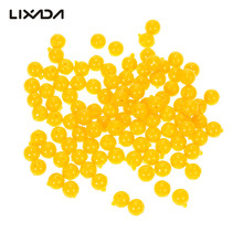 100Pcs/lot Soft Corn Carp Fishing Lures With Smell Of Artificial Semi Floating Baits 8-10mm Ball Beads Feeder Fish Lure Pesca
