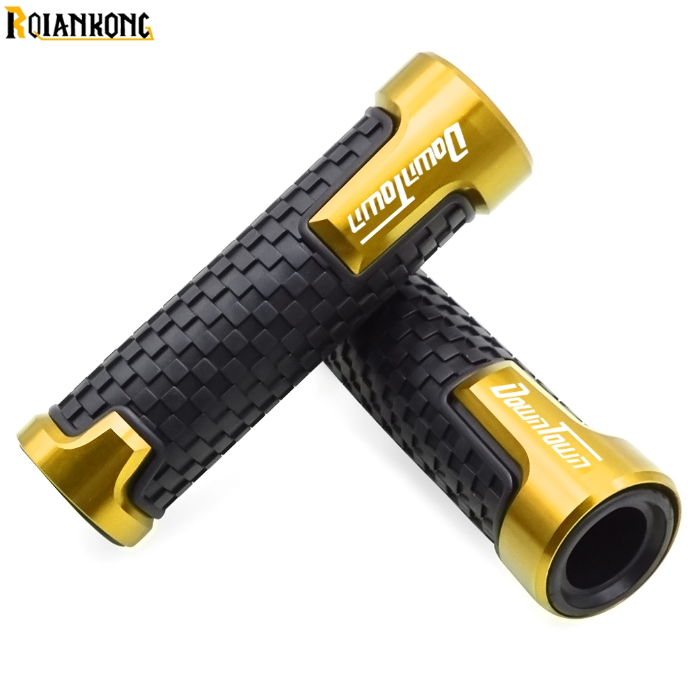 moto hand bar grips For KYMCO Downtown 200i 300i 350i 300 350 7 8 quot 22mm Universal Motorcycle Handle Handlebar Hand Bar Grip in Grips from Automobiles amp Motorcycles