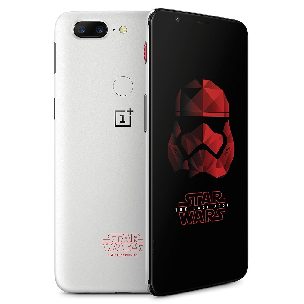 "International Version OnePlus 5T Star Wars Limited Edition Mobile Phone 6.01"" 8GB 128GB Octa Core Full Screen Fingerprint"