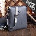 Luxury Fashion Durable PVC men crossbody bags Casual men's bag Elegant shoulder messenger bag High quality Business briefcase