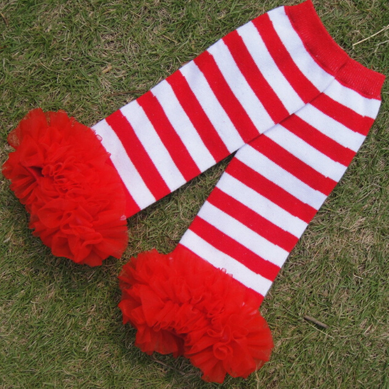 Kerst Been Warmer Gestreepte Ruffle Baby Legging Rood Wit Gestreepte Been Warmer Verjaardagscadeau Peuter Ruffle Baby Leggings Christmas Leg Warmersstriped Leg Warmers Aliexpress