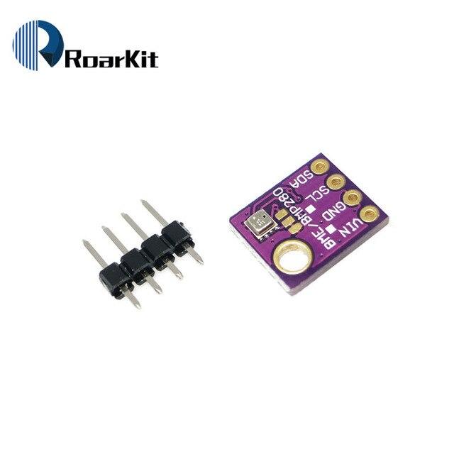 High Accuracy! 3In1 BME280 I2C SPI 1.8-5V Digital Sensor Temperature Humidity Barometric Pressure Sensor Module GY-BME280-3.3