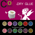 CoKEKOU 8ml Natural Dried Flower Nail gel Series Soak Off 12 Colors for Nail Art