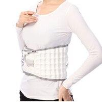 Nueva Espinal Aire Tracción Physio Descompresión Volver Cinturón Lumbar del Dolor de espalda Baja Cintura Brace Cintura Protección Envío Libre Blanco