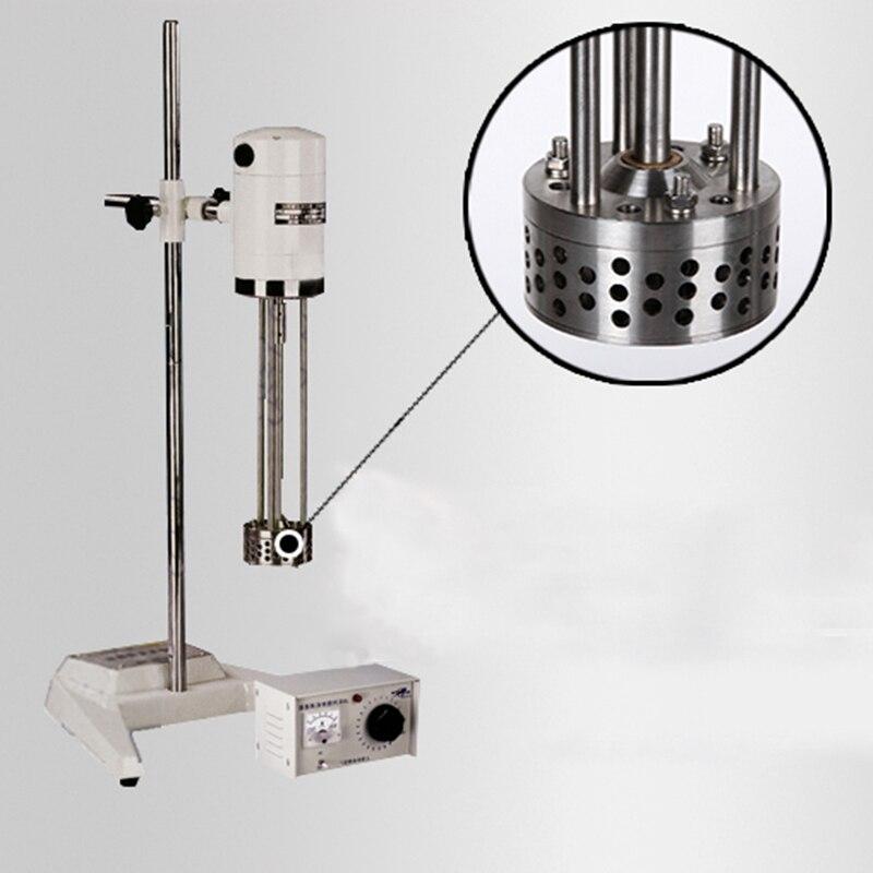 Máquina de corte de alta velocidade 220 v do homogenizador líquido contínuo do pó do misturador de emulsão dos cosméticos JRJ300-I
