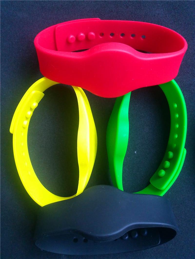 13.56Mhz FM11RF08 MF S50 1K NFC Bracelet Wristband RFID IC Wrist Band Adjustable RFID Bracelet13.56Mhz FM11RF08 MF S50 1K NFC Bracelet Wristband RFID IC Wrist Band Adjustable RFID Bracelet