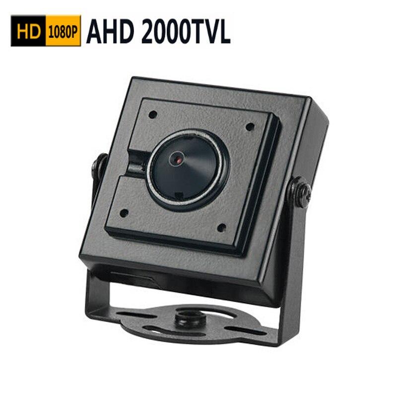 ФОТО 1080P Mini AHD camera 2000TVL pinhole camera 2.0megapixel CCTV security camera indoor AHD mini camera