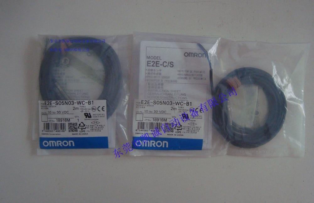 E2E-S05N03-WC-B1 OMRON proximity switch, new original E2E-S05N03-WC-B2 E2E-S05N03-WC-C1 E2E-S05N03-WC-B1 OMRON proximity switch, new original E2E-S05N03-WC-B2 E2E-S05N03-WC-C1