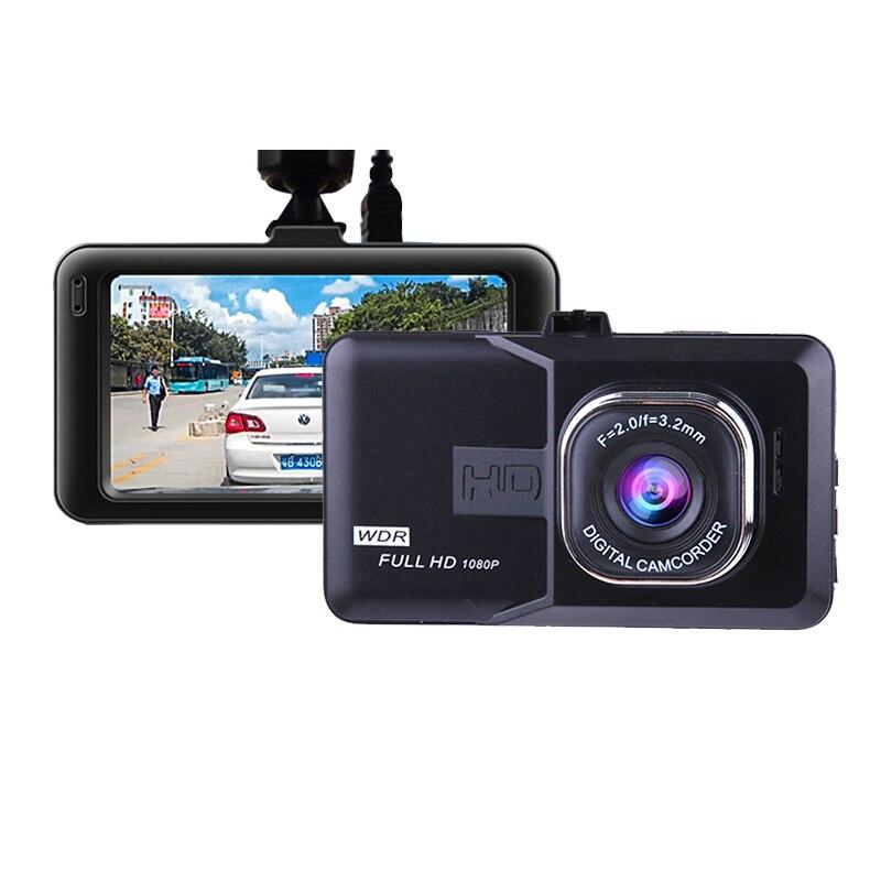 PARASOLANT 120 Wide-angle Car recorder Full HD 1080P Dash cam Loop Recorder English/Russian Dashcam Clear Night Vision Car Camer
