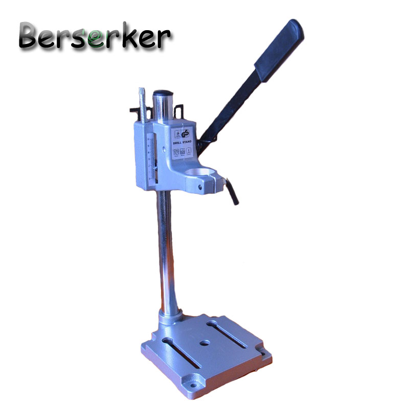 Berserker Precision Electric Drill Stand power drill Clamp Mini Drill Chuck DIY Tool cast iron base BG-6100 Free Shipping