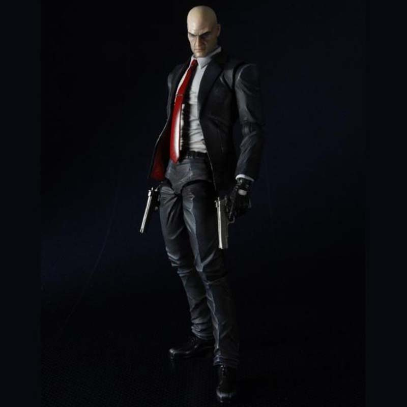 PLAY ARTS KAI Figure HITMAN ABSOLUTION AGENT 47 Action Figure 21 5cm